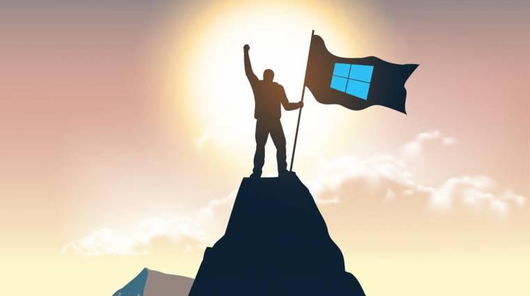 A Windows 10 nemsokára átlépi a milliárdos álomhatárt kép