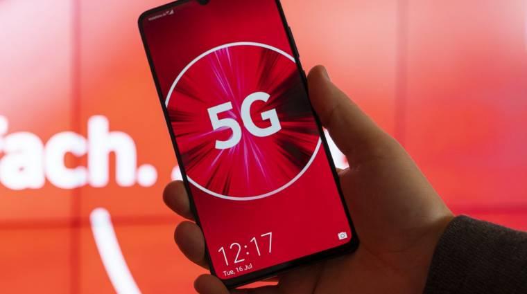 A Vodafone elindította Magyarország első 5G hálózatát Budapesten kép