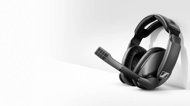 100 órás üzemidőt kínál a Sennheiser új gamer-fejhallgatója kép