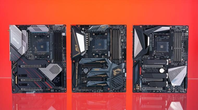 X570-es alaplappal is működött egy Ryzen 1000-es processzor kép