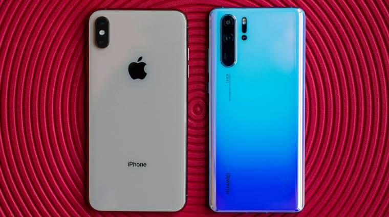 Visszaveheti a Huawei-től a második helyet az Apple kép