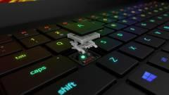 Optikai billentyűzettel támad a Razer Blade 15 Advanced gamerlaptop kép