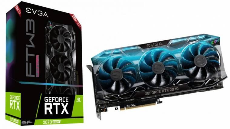 Ütősek lettek az EVGA GeForce RTX 2070 Super Ultra+ videokártyái kép