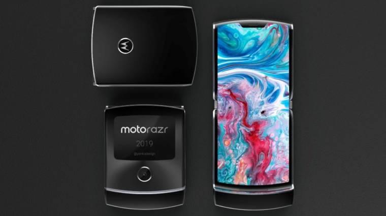 November közepén jöhet az összehajtható Motorola RAZR kép