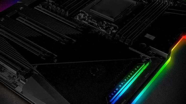 TRX40-es Aorus alaplapot villantott a Gigabyte kép