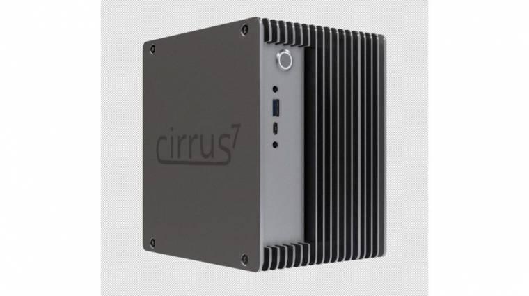 Ryzen processzort kapott a passzív hűtésű Cirrus7 Mini-STX PC kép