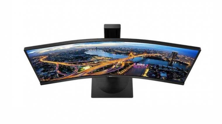 Munkára termett a Philips gigantikus monitora kép