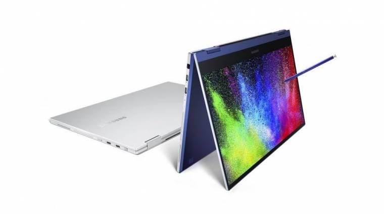 Jönnek az első QLED-kijelzős Samsung laptopok kép