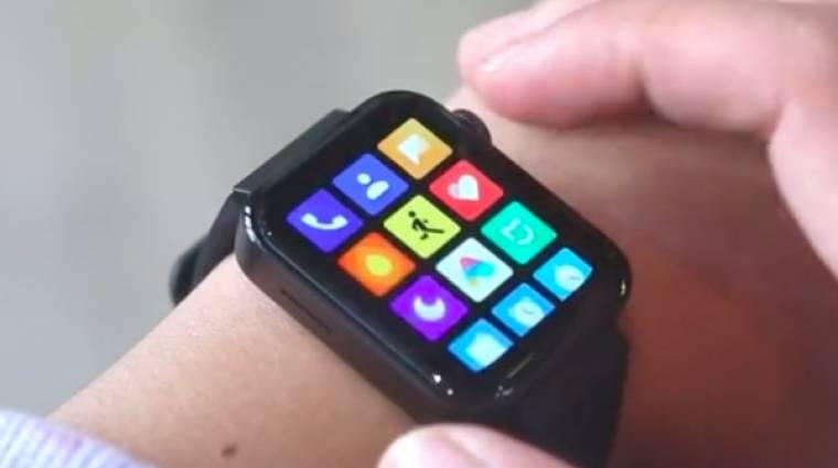 Videón a Xiaomi Mi Watch okosóra kép