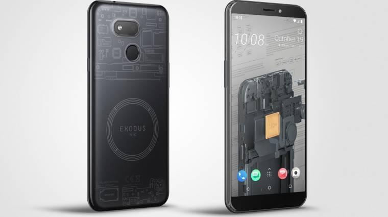 Ilyen lesz az HTC olcsó blockchain-mobilja kép