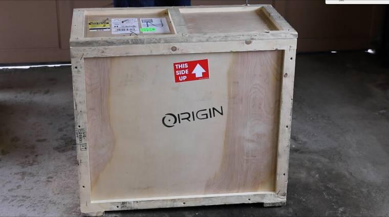 Menő faládában is szállít PC-ket az Origin PC kép