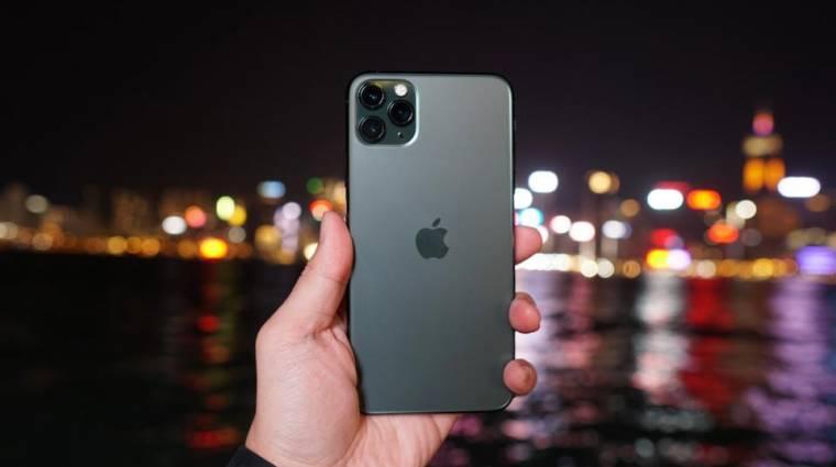 Könnyen karcolódik az iPhone 11 mobilok kijelzője? kép