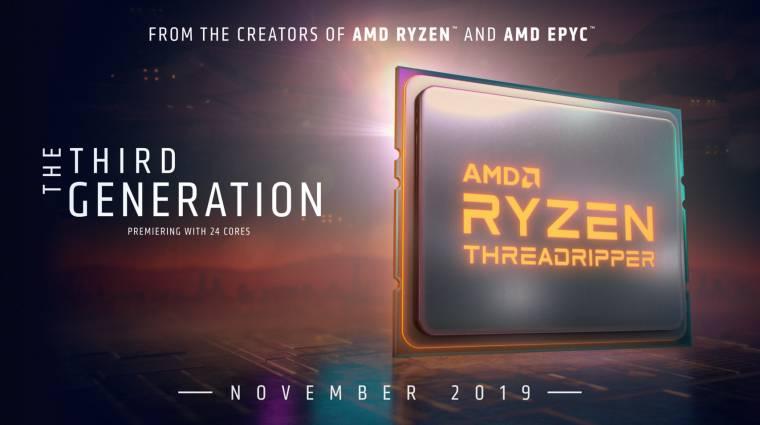 24 magról indítanak az új AMD Ryzen Threadripper processzorok kép