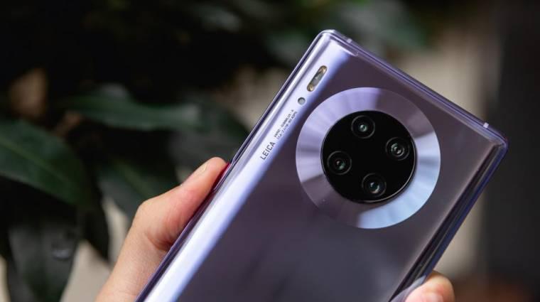 Végre Európában is megjelenhet a Huawei Mate 30 Pro kép