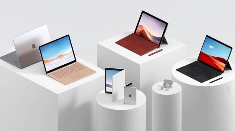 Erős lett a Microsoft új Surface kínálata kép