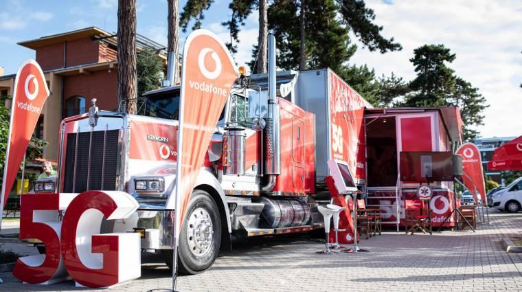 Élő 5G hálózatot demózott a Vodafone Siófokon kép