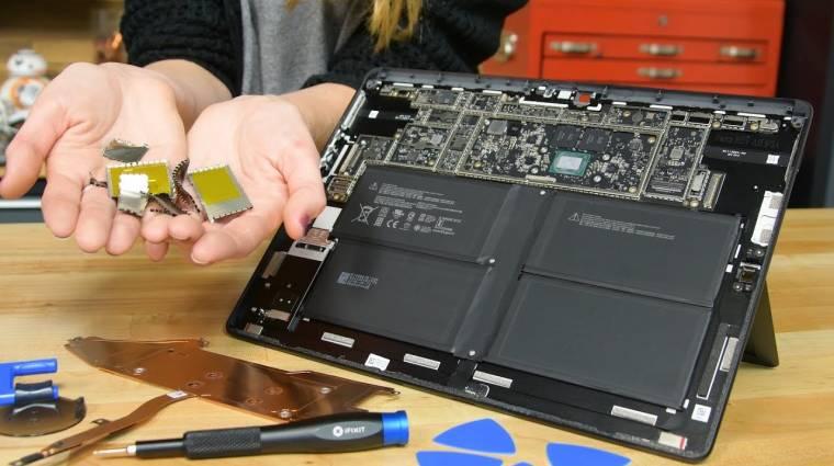 Egészen javítható lett a Surface Pro X kép