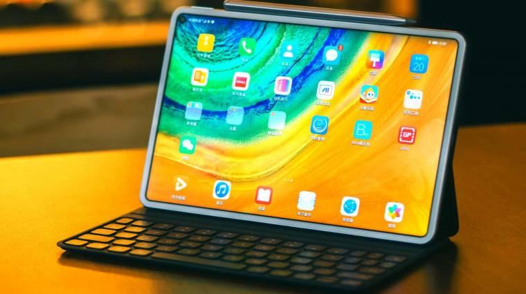 Durván prémium lett a Huawei MatePad Pro táblagépe kép