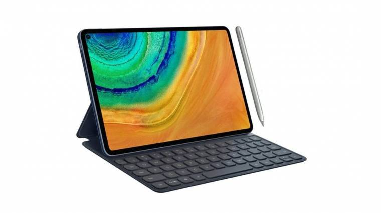 Fúrt szelfikamerás kijelzőt kap a Huawei MatePad Pro táblagép kép
