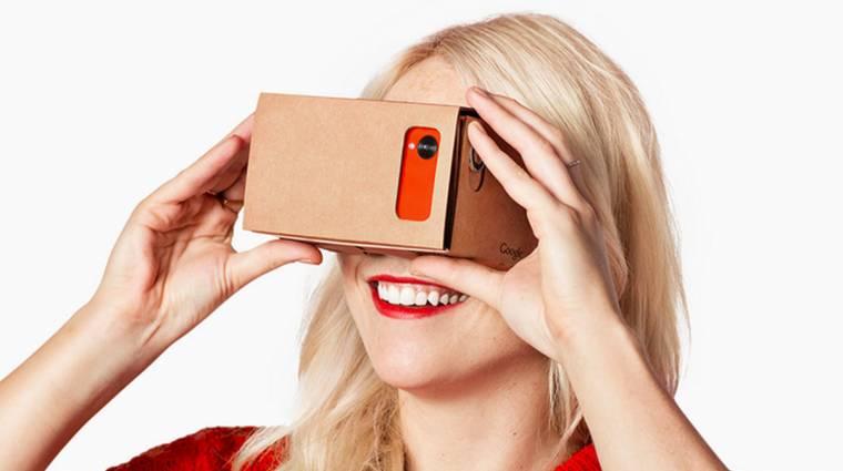 Nyílt forráskódú lett a Google Cardboard VR-headset kép