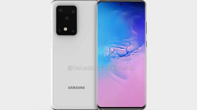 Tovább szivárog a Samsung Galaxy S11+, és 100x-os zoomra is képes lesz kép