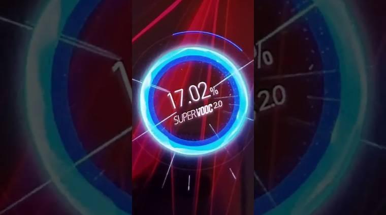 Döbbenet, hogy milyen gyorsan tölt az Oppo Reno Ace okostelefon kép