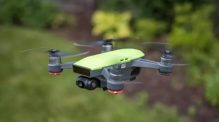 Bármelyik drónt beazonosítja a fejed fölött a DJI kép