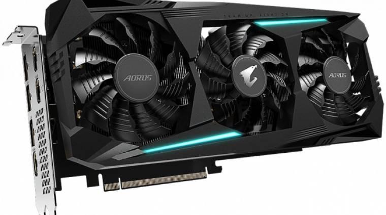 Csendes módja is van az Aorus Radeon RX 5700 XT 8G-nek kép