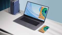 Windows 10-zel támadnak a Huawei legújabb MateBook D laptopjai kép