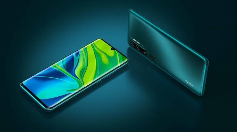 Telitalálat lesz Európában a Xiaomi Mi Note 10 kép