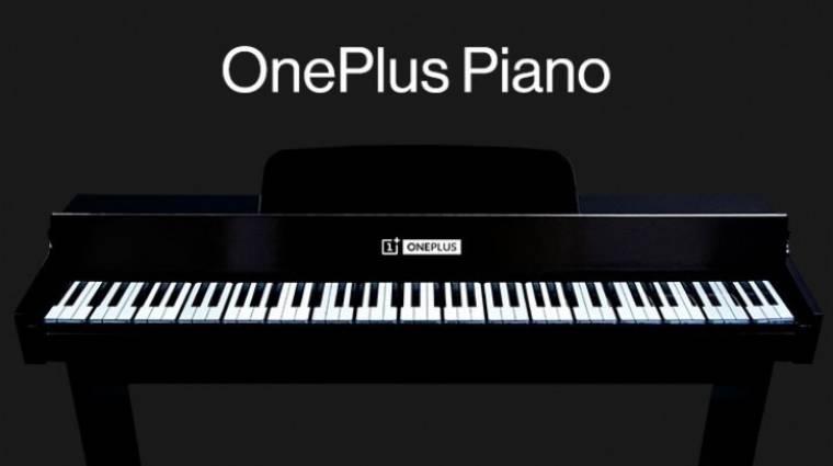 Mobilokból csinált zongorát a OnePlus kép