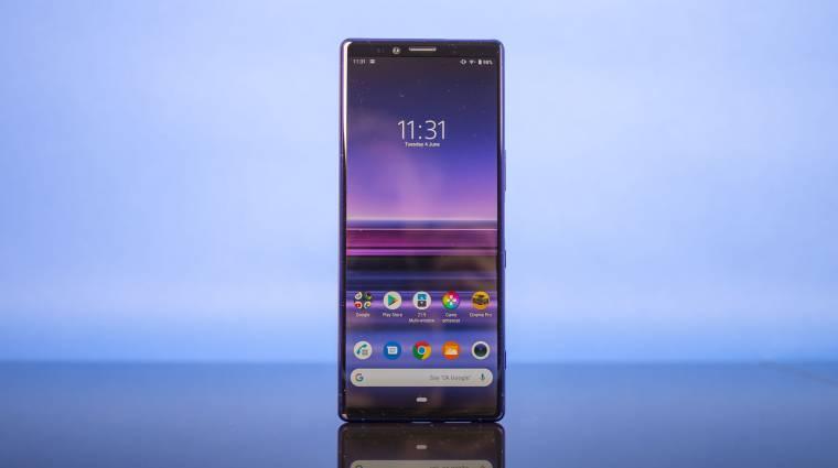 Így frissülnek Android 10-re a Sony mobilok kép