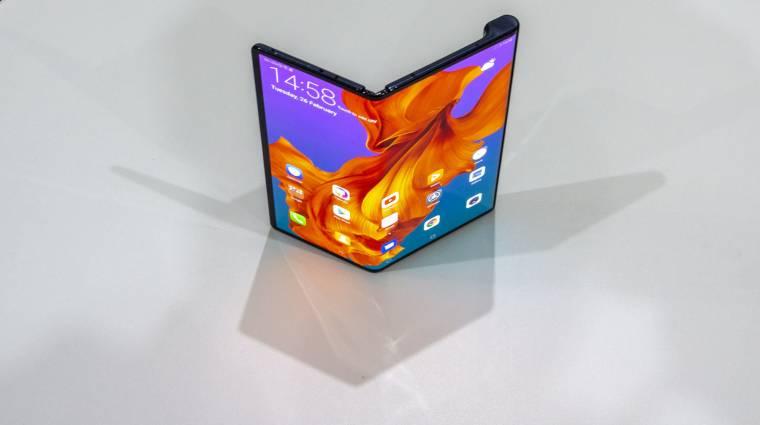 Egy iPhone 11 Pro árába kerül kicserélni a Huawei Mate X kijelzőjét kép