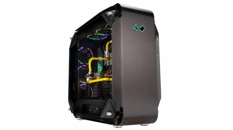 Dugig van ventilátorokkal az In Win új számítógépháza kép