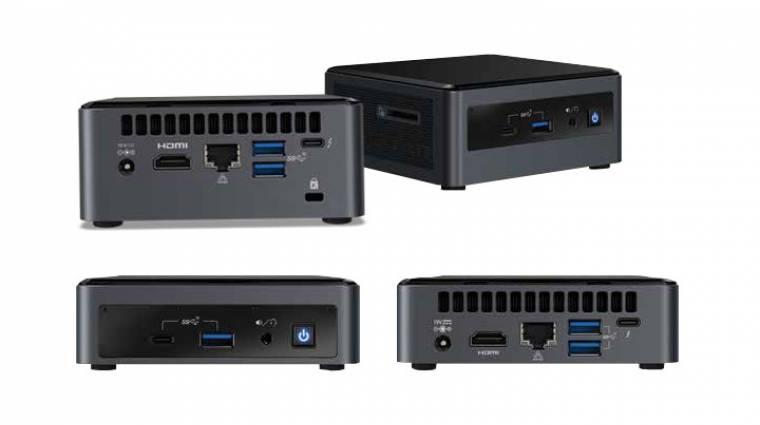 Megérkeztek az Intel NUC 10 Performance PC-i kép