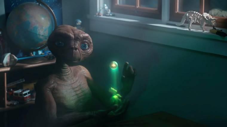 37 év után tért vissza E.T. a földönkívüli kép
