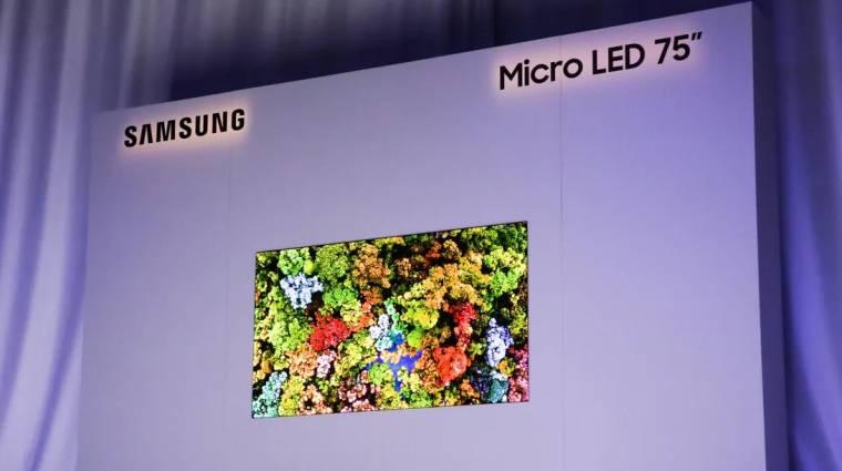 MicroLED-ek sorozatgyártásába kezdhet a Samsung kép