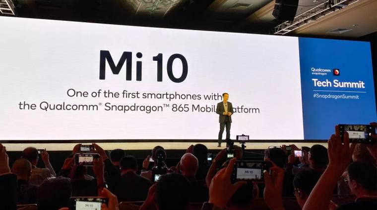 Nagyjából bemutatkozott a Snapdragon 865-re építő Xiaomi Mi 10 kép