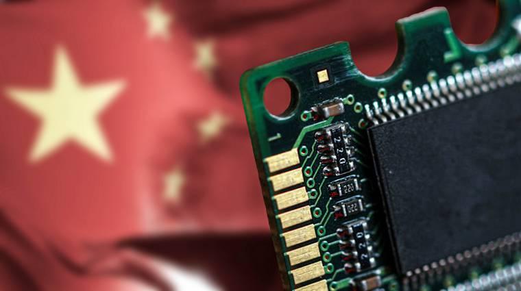 Elkészült az első kínai DRAM-gyár kép
