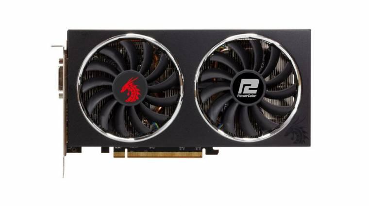 Ilyen lett a PowerColor Radeon RX 5500 XT Red Dragon széria kép