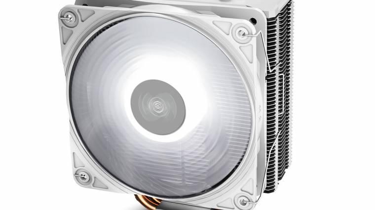 Fehérbe öltözött a Deepcool új CPU-hűtője kép