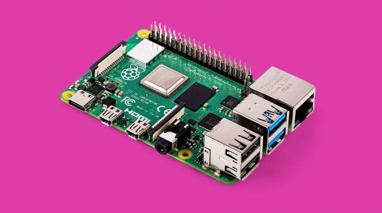 Több mint 30 millió Raspberry Pi talált gazdára 2012 óta kép
