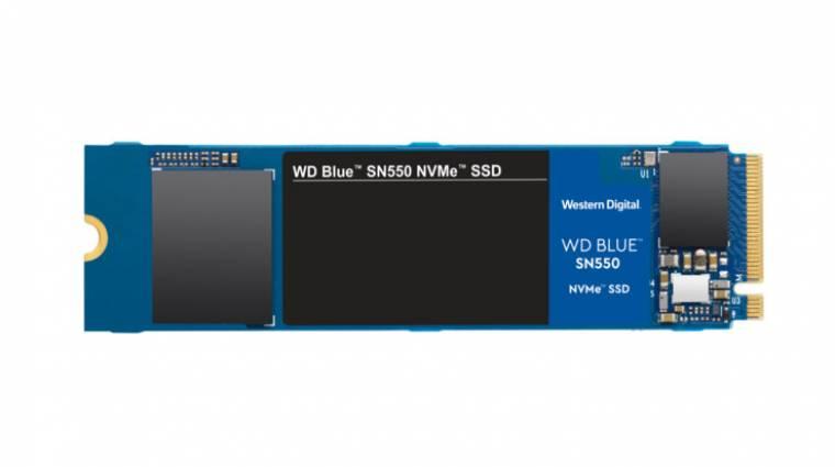 A WD is hozott pár új NVMe SSD-t kép