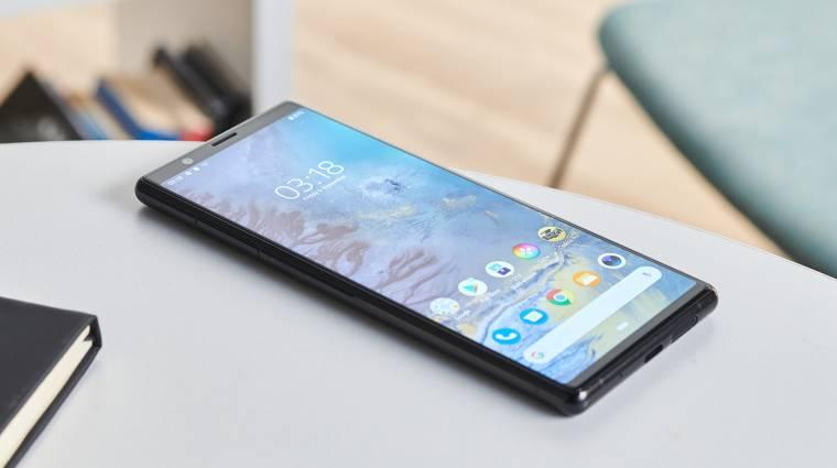 Váratlanul gyorsan frissült Android 10-re a Sony Xperia 1 és Xperia 5 kép
