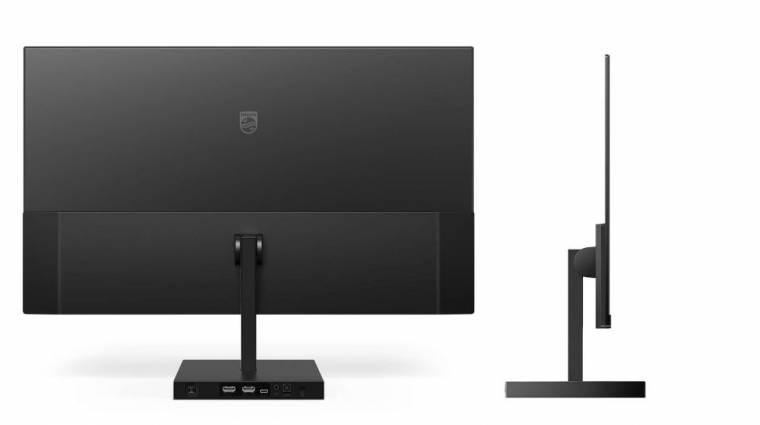 Nagyon dizájnos monitort hozott a Philips kép