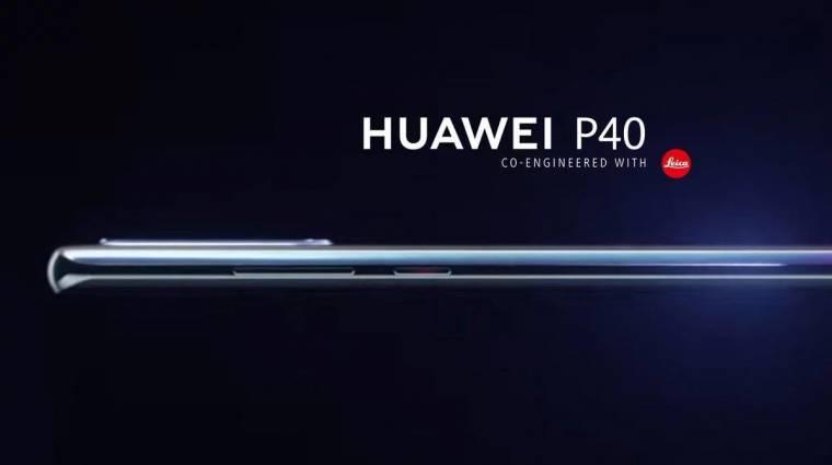 5500 mAh-s grafénakkut kaphat a Huawei P40 Pro kép