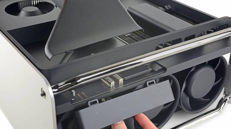 Remekül javítható az új Mac Pro kép
