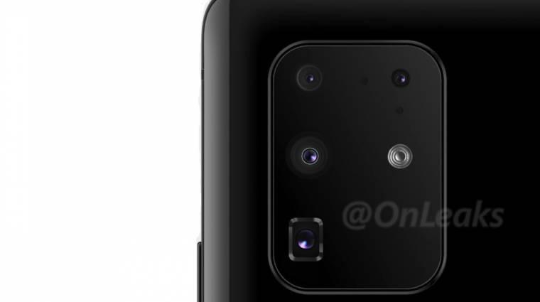 Így néz ki majd a Samsung Galaxy S11+ kameraszigete kép