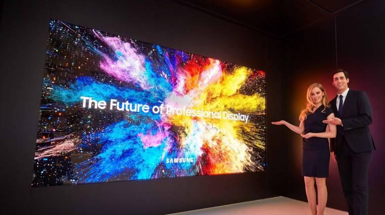 Odacsaphatnak a Samsung QD-OLED tévéi kép