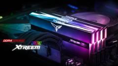 Tükörbe öltöztek a Team Group új DDR4-es memóriái kép